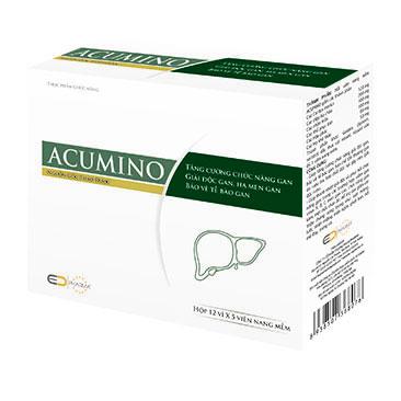 Thực phẩm bảo vệ sức khỏe  Acumino 1