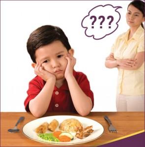 Vì sao trẻ biếng ăn