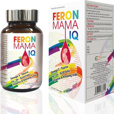 Thực phẩm bảo vệ sức khỏe FERONMAMA IQ